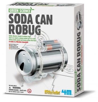 experimentlåda för barn - läskburksrobot