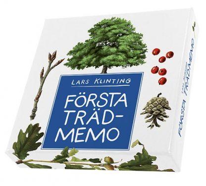 Första trädmemo - memoryspel om träd