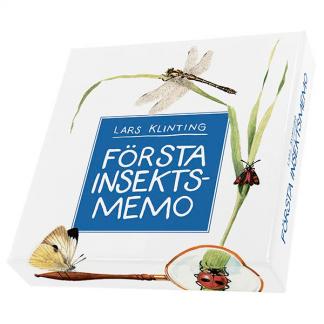 Första insektsmemo - memorspel som tränar hjärnan