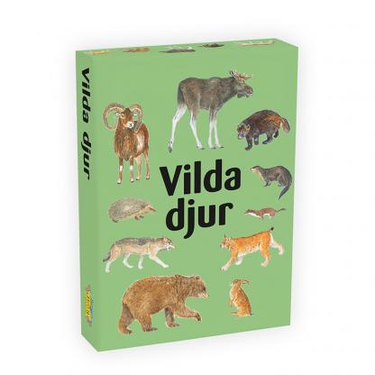 Vilda djur - sällskapsspel för barn och familj